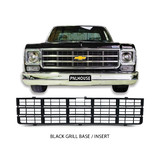 Grill Insert BLACK Fits Chevrolet C10 Ute 1973 - 1980 Chevy Pickup NEW