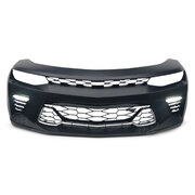 Upgrade Front Bumper Bar & Grill Kit Fits Chevrolet Camaro 2016 - 2020