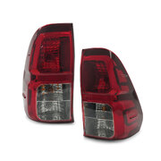 Genuine Tail Lights PAIR Fits Toyota Hilux 2015-2019 SR5 Workmate Second-Hand PR
