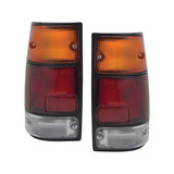 Tail Lights PAIR fits Holden Rodeo 1988 - 1997