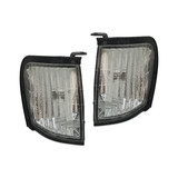 Corner Park Lights PAIR Crystal Lens fits Holden Rodeo TF Ute 97-03