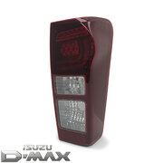 Tail Light RHS Right LED Tinted Type Fits Isuzu DMAX 2014 - 2019 GENUINE