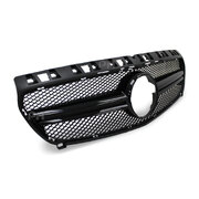 Grill Gloss Black Mesh Style Fits Mercedes-Benz W176 A-Class & A45 AMG 12 - 15