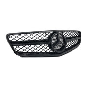 Grill Gloss BLACK AMG C63 Style Fits Mercedes-Benz W204 C-Class 2007 - 2014