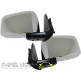Nissan Patrol GU Series Wagon 97-04 PAIR LH+RH Chrome ELECTRIC Door Mirror NEW