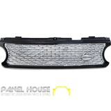 Grille Range Rover L322 06-10 HSE Vogue Replacement UPGRADE GRILL CHROME & BLACK
