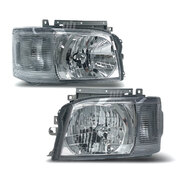 Headlight PAIR Fits Toyota Hiace / Commuter 2005-2010 RH+LH