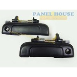 Door Handle PAIR Black Outer Fits Toyota Hiace Van 1989-2005 RH+LH