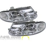 Headlights PAIR fits Holden VT Commodore 97-00