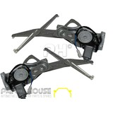 Window Regulators PAIR Front Electric New fits Holden Commodore VT VX VY VZ