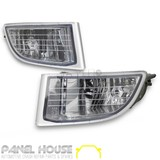 Fog Lights PAIR Front ADR Fits Toyota Landcruiser Prado 120 Series 02-09