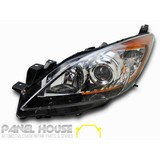 Mazda 3 BL 1 Sedan Hatch 09-11 Front LHS Left Head Light NEW Replacement Lamp