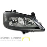 Headlight RIGHT Black ADR fits Holden TS Astra 1998-2004