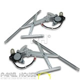 NEW Honda CRV 97-01 PAIR LH+RH Front Electric Window Regulators With Motors