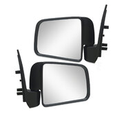 Door Mirror PAIR Black Manual Fits Mazda B Series Ute B2500 B2600 1999-2006