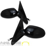 Door Mirrors PAIR Electric Black fits Ford Falcon EF EL Sedan Wagon 94-98