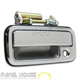 Door Handle Chrome Front Outer LH Passengers Side fits Holden Rodeo TF Ute '88-'02