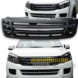 Grill Upgrade Billet Style BLACK EDITION Grille Isuzu D-MAX Ute 12-16 DMAX