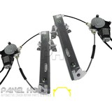 Mazda Tribute EP 01-06 Pair LH+RH REAR Electric Window REGULATOR & MOTOR NEW