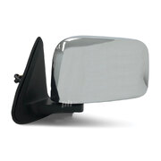 Nissan Patrol GU Series 1 2 & 3 Wagon Left CHROME LH Electric Door Mirror NEW