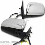 Door Mirror PAIR Power Electric Fits Toyota Hilux 05-11