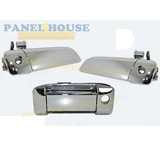 Exterior Handles & Sliding Handle SET OF 3 Chrome Fits Toyota Hiace 200Series 05-13