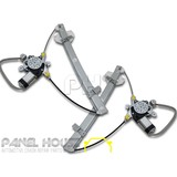 Mitsubishi CE Lancer WAGON 96-03 Front Pair LH+RH Window Regulator & MOTOR New