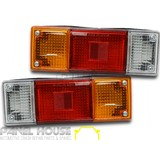 Tail Lights PAIR Tray Back fits Ford Courier PC PD PE PG PH 86-06