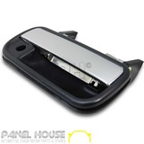 Door Handle RIGHT Outer Front Chrome & Black Fits Toyota Hilux Ute 1988-2005