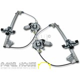 Window Regulator & Motor PAIR Front Electric LH LHS LHF fits Ford Falcon AU BA BF LHS+RHS