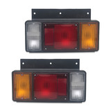 Tail Light PAIR FITS Isuzu N Series Truck NHR NKR NPR 1984 - 2007