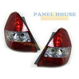 Honda Jazz VTi VTiS 2002 - 2004 PAIR LH+RH Genuine Tail Light NEW Lamp