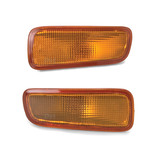 Bar Indicator Lights PAIR Amber fits Holden Rodeo TF Ute 98-03