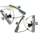 Window Regulators & Motor PAIR Front NEW fits Holden Commodore VE Ute Series 1&2