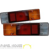 Mitsubishi Triton ML MN Ute Tray Back Tail Light PAIR '06-'13 LH + RH Round Plug