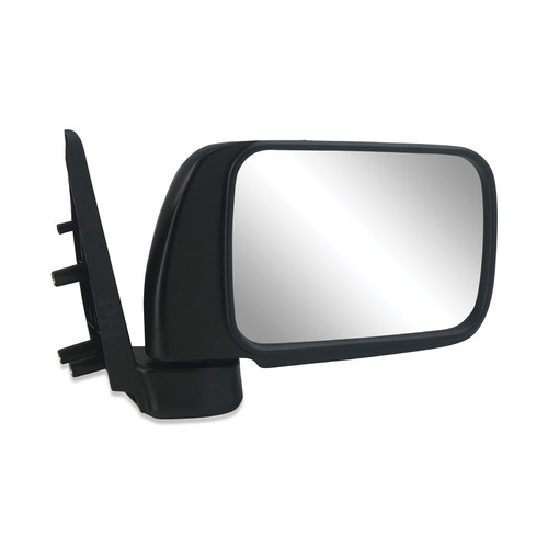 Nissan GU Patrol Wagon 97 - 04 Black Manual Door Mirror Right Hand Brand New