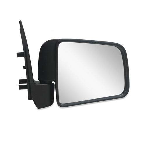 Door Mirror RIGHT Black Manual fits Ford Courier PE PG/PH Ute 1999-2006