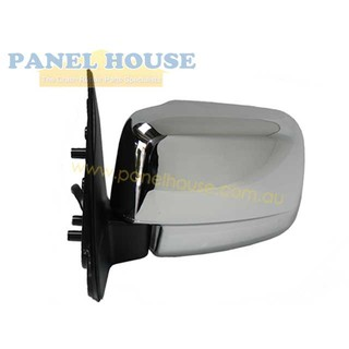 Door Mirror LEFT Chrome Electric fits Ford Courier PE PG PH Ute 1999-2006