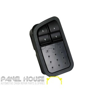 Master Switch 2 BUTTON Front Electric Window fits Ford Falcon BA BF Series 02-08