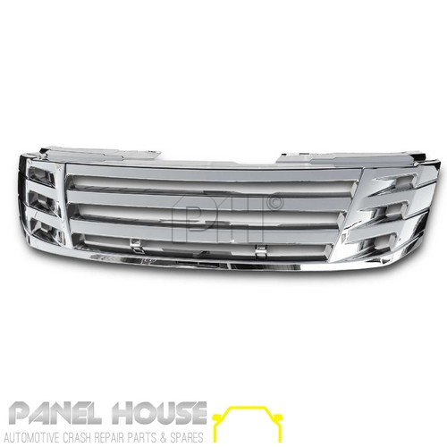 Grill Upgrade Billet Chrome fits Isuzu D-Max Dmax Ute 2012-2016 Grille