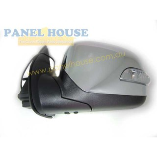 Chrome Electric Door Mirror with Indicator LEFT Hand LH Rodeo RA Colorado